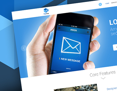 Web Template for messaging
