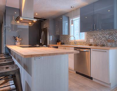 Design d'une cuisine | Kitchen design par/by LM Design