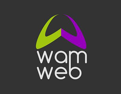 WAMWEB / Site and brand style