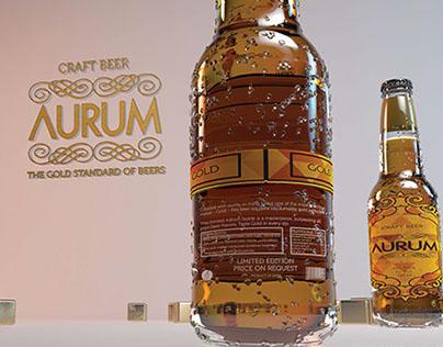 Aurum - Gold Beer - The Gold Standard of Beers