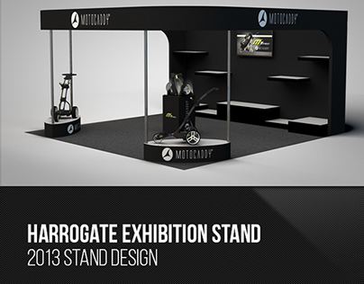 2013 Motocaddy Harrogate Exhibition Stand