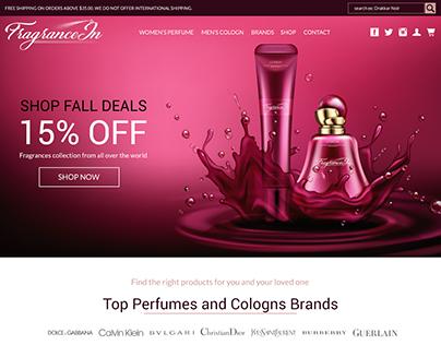 FragraneIN Website