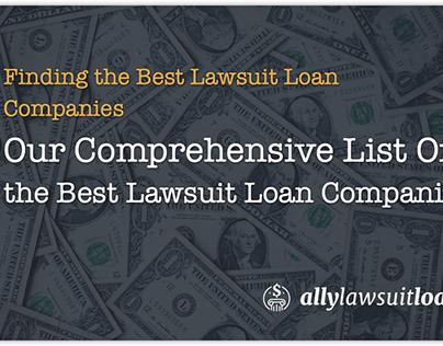 Best Lawsuit Loan Companies