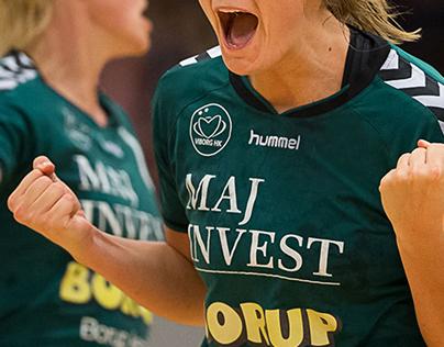 Viborg Handball Club complete Identity design