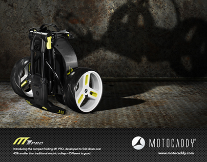 2013 Motocaddy Advert Campaigns