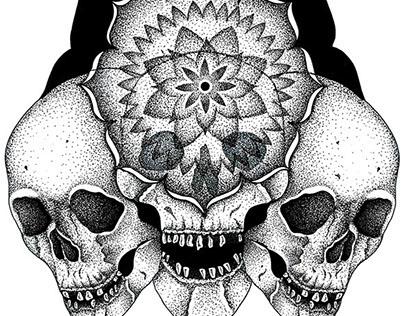 Crânio Mandala