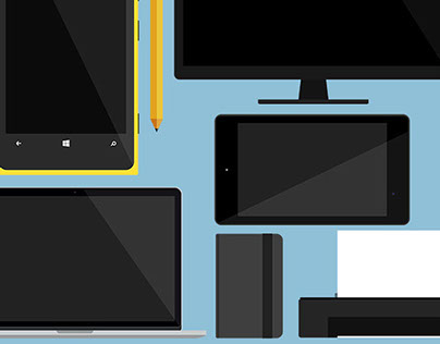 Flat PSDs (Including Macbook Pro, Nexus 7, Lumia 920)