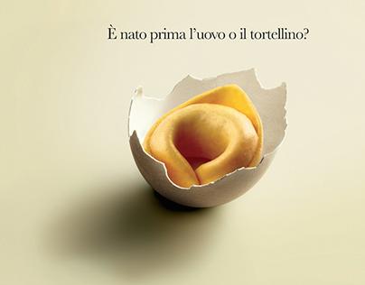 Barilla egg pasta.