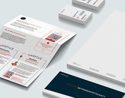 Haptus – Corporate Design