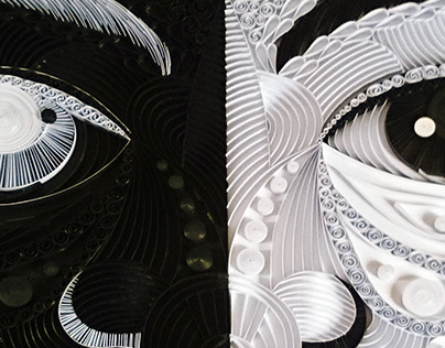 Duality - Paper Quilling