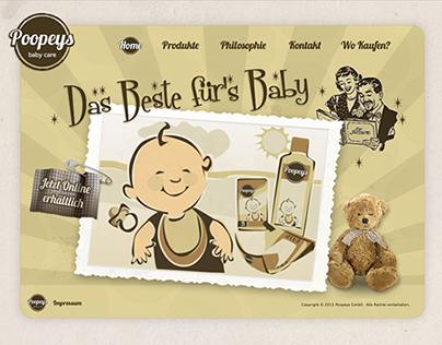 Website Poopeys Germany