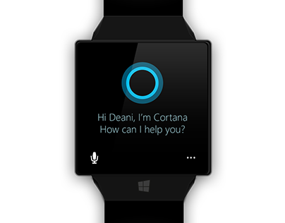 Microsoft Windows Watch concept
