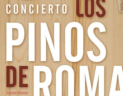 Los Pinos de Roma, Orquesta Sinfónica