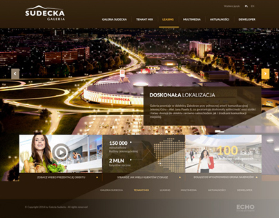 Galeria Sudecka - shopping center