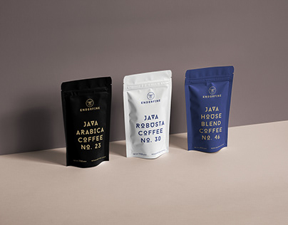 Packaging Design for Endorfine Coffee