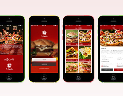 Fast Food App Design Concept