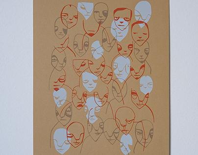 Face Screenprints