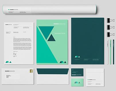 Mainer – Associates Visual Identity