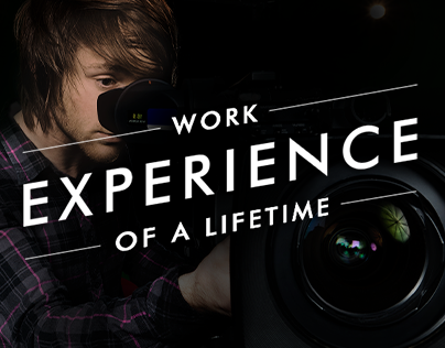 Work Experience of a Lifetime