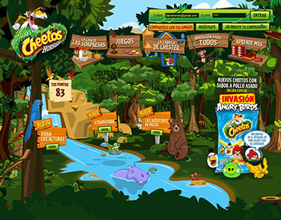 Cheetos WebSite 2012 - Colombia