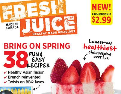 Fresh Juice   Editorial Design
