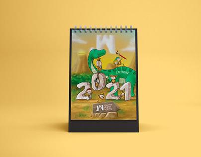 Calendar design - JAI