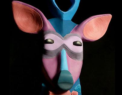 Máscara tribal