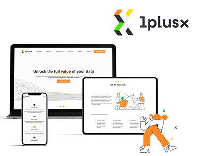 Rebranding for 1plusX company