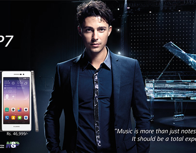 Huawei P7 Hoardings