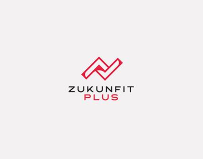 ZUKUNFIT PLUS LOGO & BRAND IDENTITY