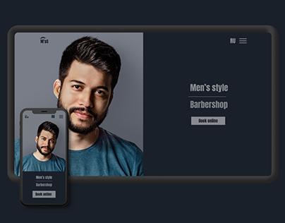 """Barbershop """"Mens' style"""""""