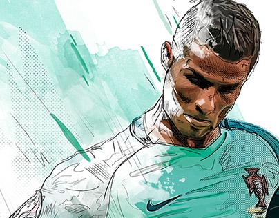 Ronaldo - Portugal Players - UEFA Euro 2016
