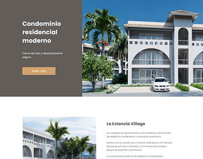La estancia village - Website