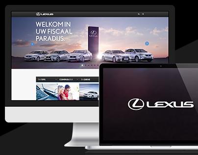 Lexus Taxes Minisite