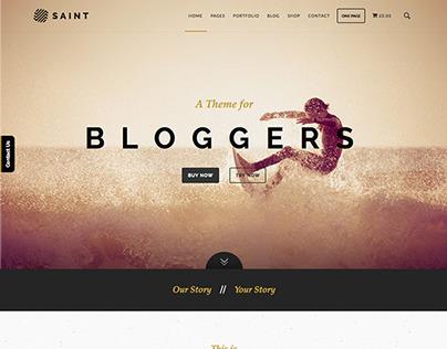 Saint Wordpress Theme by alleycatthemes.com