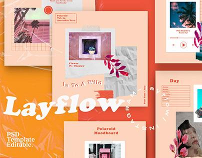 Layflow - Social Media Brand Post+SG