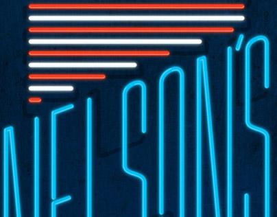 Nelson's Diner poster