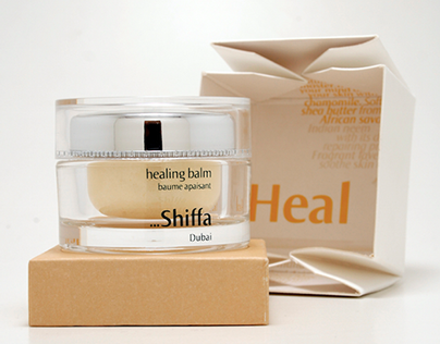Shiffa Natural Skin Care - Package Design