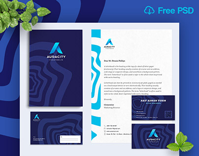 [Free PSD] Branding Material by Appify.xyz