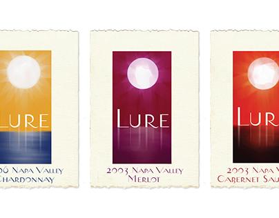 wine/spirits label design