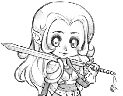 Girl - Fantasy Character Design