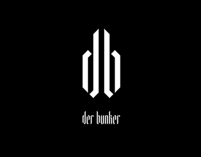 Der Bunker visual identity