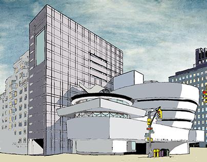Guggenheim Museum New York, by DDR