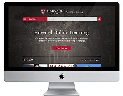 Harvard University Digital learning portal