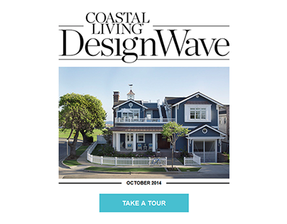 Coastal Living Design Wave Email