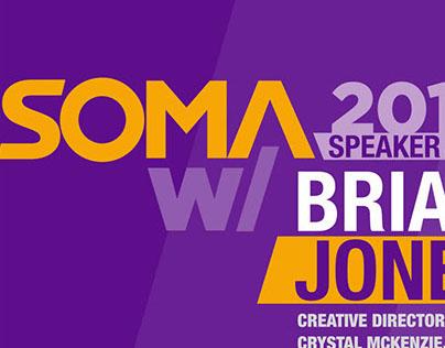 SOMA Speaker Series collateral