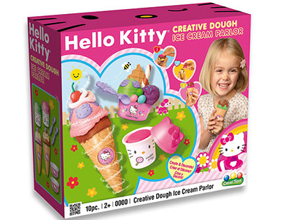 Hello Kitty Package Design for Canal Toys, Paris