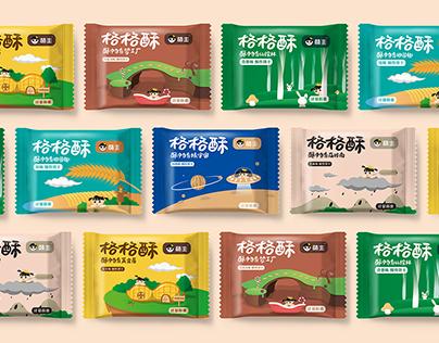 《格格酥》包装设计 package design