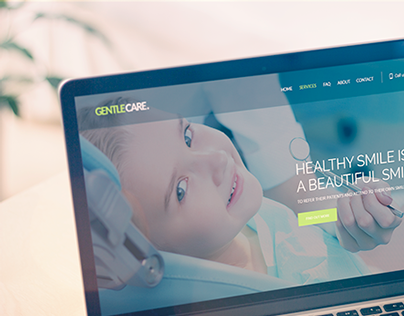 Landing Page Gentle Care