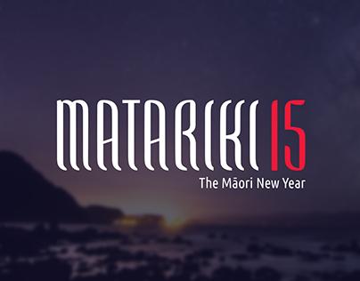 Matariki 2015 Poster & Booklet